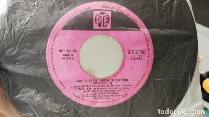 Discos de vinilo: LOTE DE 15 DISCOS SINGLES, 4 SIN CARATULAS, muy baratos salen a 3e la unidad - Foto 10 - 167830196