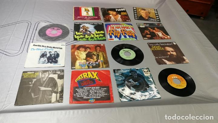 LOTE DE 15 DISCOS SINGLES, 4 SIN CARATULAS, MUY BARATOS SALEN A 3E LA UNIDAD (Música - Discos - Singles Vinilo - Jazz, Jazz-Rock, Blues y R&B)