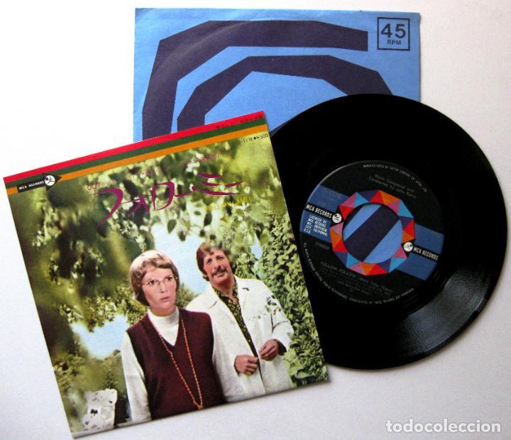 JOHN BARRY - FOLLOW ME! - SINGLE MCA RECORDS 1973 JAPAN (EDICIÓN JAPONESA) BPY (Música - Discos - Singles Vinilo - Bandas Sonoras y Actores)
