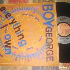 Discos de vinilo: BOY GEORGE - EVERYTHING I OWN / USE ME(VIRGIN -1987) OG ENGLAND. Lote 167830420
