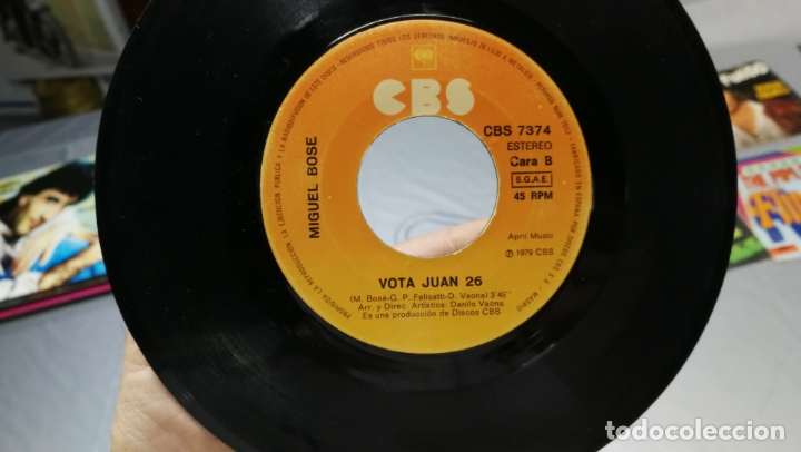 Discos de vinilo: LOTE DE 15 DISCOS SINGLES, 4 SIN CARATULAS, muy baratos salen a 3e la unidad - Foto 25 - 167830196