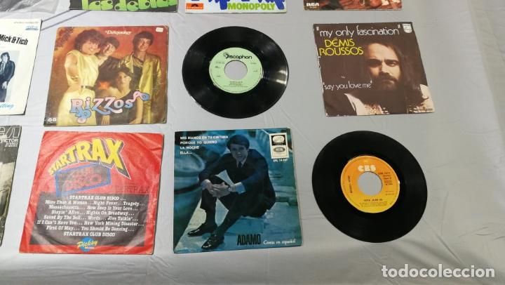 Discos de vinilo: LOTE DE 15 DISCOS SINGLES, 4 SIN CARATULAS, muy baratos salen a 3e la unidad - Foto 4 - 167830196