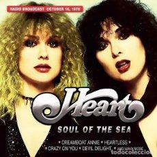 Discos de vinilo: LP HEART – SOUL OF THE SEA. RADIO BROADCAST OCTOBER 16, 1976 . Lote 167837648