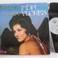 Discos de vinilo: INDIA FLORES - FIESTA CON... -LP DIRESA 1973 // RUMBA RUMBAS. Lote 167838384