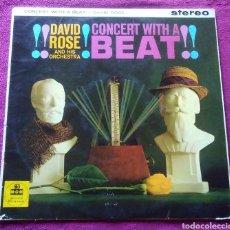 Discos de vinilo: LP VINILO MÚSICA DAVID ROSE CONCERT WITH A BEAT MGM. Lote 167843536