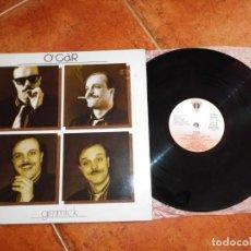 Discos de vinilo: O´GAR GIMMICK LP VINILO DEL AÑO 1985 ESPAÑA VICTORIA ITALO-DISCO CONTIENE 8 TEMAS MUY RARO. Lote 167853176