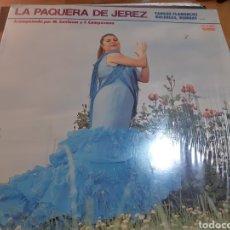 Discos de vinilo: DISCO VINILO LP LA PAQUERA DE JEREZ. Lote 167871480