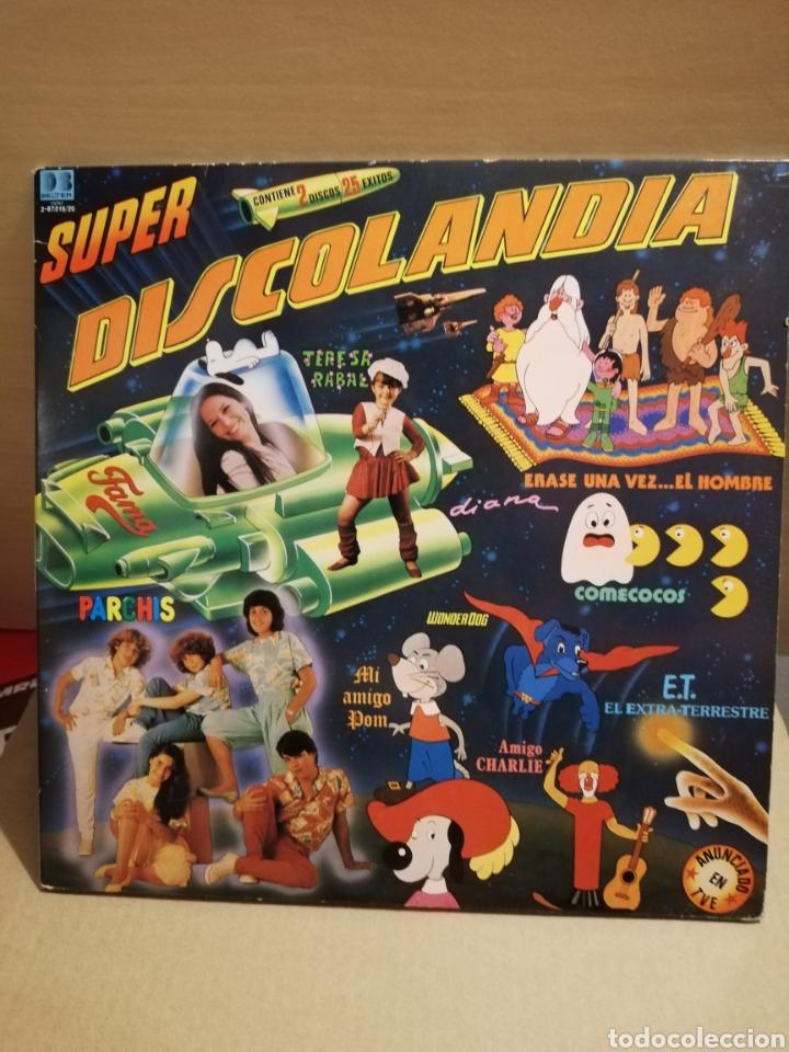 DISCOLANDIA 1976. DOBLE VINILO. (Música - Discos - LPs Vinilo - Música Infantil)