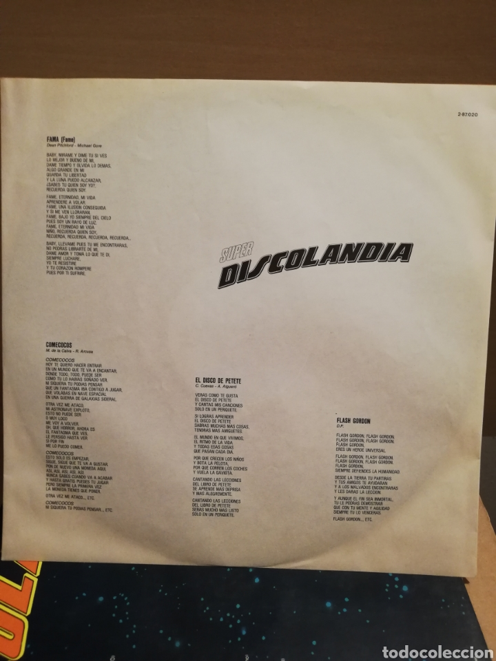 Discos de vinilo: Discolandia 1976. Doble Vinilo. - Foto 5 - 167873564
