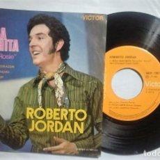 Discos de vinilo: ROBERTO JORDAN - ROSA MARCHITA / VIEJO AMOR / QUE TE HAN DICHO / TE OFREZCO MI AMOR 1971 MÉXICO RARO. Lote 167880224