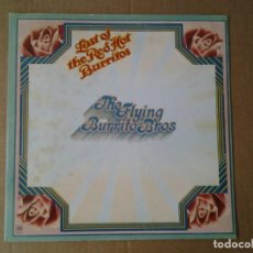 Discos de vinilo: THE FLYING BURRITO BROS. -THE LAST OF THE RED HOT BURRITOS- LP AM RECORDS 1972 GATEFOLD 88.173-I ED.. Lote 167881536
