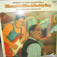 Discos de vinilo: MEMPHIS SLIM & BUDDY GUY - HOUSE OF THE BLUES VOL. 1 BARCLAY - 1975. Lote 167884180