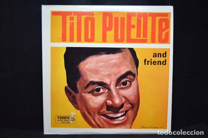TITO PUENTE - TITO PUENTE AND FRIEND - LP (Música - Discos - LP Vinilo - Cantautores Extranjeros)