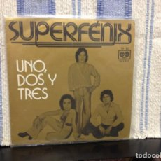 Discos de vinilo: SUPERFENIX - UNO, DOS Y TRES / RARE SINGLE SPANISH FUNK AND SOUL 1977. NM - NM. Lote 167909672