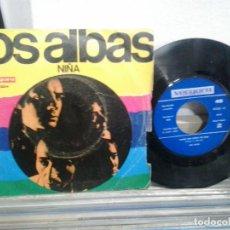 Discos de vinilo: LMV - LOS ALBAS. NIÑA. VERGARA 1969. SINGLE. Lote 167910400