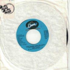 Discos de vinilo: JUDY CHEEKS - DON'T WANNA LOVE YOU AGAIN / WHAT'S GOT INTO YOU (SINGLE USA, DREAM RECORDS 1980). Lote 167916836