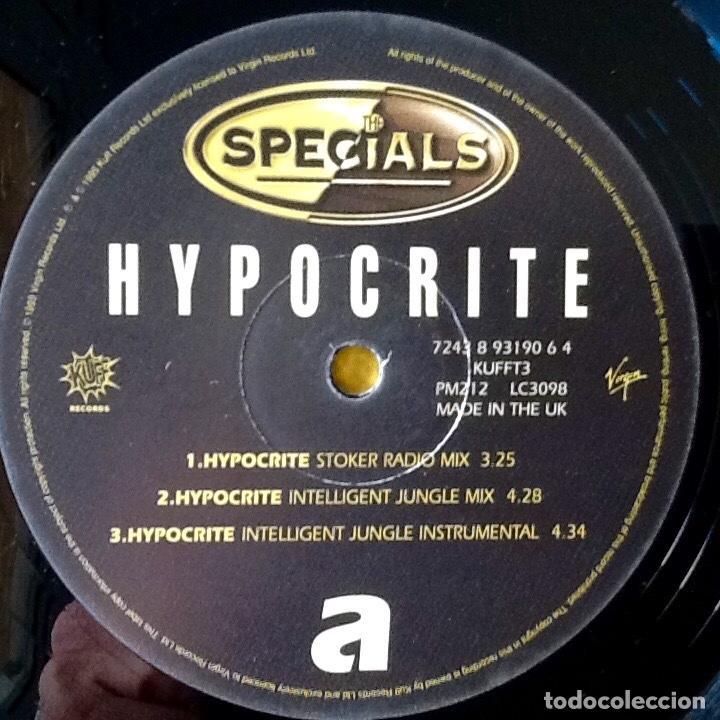 Discos de vinilo: THE SPECIALS : HYPOCRITE [UK 1995] 12 - Foto 3 - 167918216