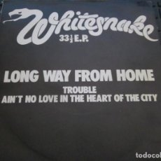 Discos de vinilo: WHITESNAKE - LONG WAY FROM HOME - SN - EDICION INGLESA DEL AÑO 1979.. Lote 167921092