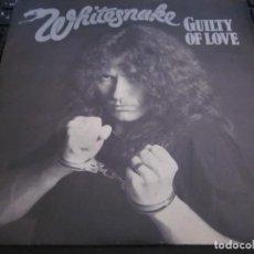 Discos de vinilo: WHITESNAKE - GUILTY OF LOVE - SN - EDICION INGLESA DEL AÑO 1983.. Lote 167922656