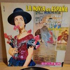 Discos de vinilo: ORQUESTA FLORIDA / LA NOVIA DE ESPAÑA / EP - BELTER-1960 / MBC. ***/***. Lote 167932660