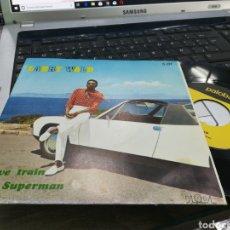 Discos de vinilo: LARRY WALD SINGLE LOVE TRAIN / SUPERMAN ESPAÑA 1971. Lote 167933634