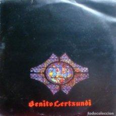 Discos de vinilo: BENITO LERTXUNDI - ITZALTZUKO BARDOARI LP DOBLE + INSERT SPAIN 1981. Lote 167935328
