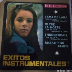 Discos de vinilo: EXITOS INSTRUMENTALES - TEMA DE LARA, GOLDFINGER... Lote 167945973