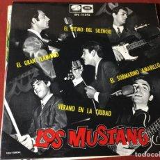 Discos de vinilo: SINGLE ORIGINAL AÑOS 60/70 DISCO LOS MUSTANG LOT-A300. Lote 167952302