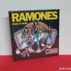 Discos de vinilo: RAMONES - ROAD TO RUIN - LP - EDITION 40TH ANNIVERSARY ON LIMITED BLUE VINYL - NUEVO PRECINTADO. Lote 167952508
