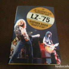 Discos de vinilo: LED ZEPPELIN - AMERICAN TOUR 1975 - PHYSICAL GRAFFITTI - STEPHEN DAVIS - LENGUA INGLESA - LIBRO. Lote 167963365