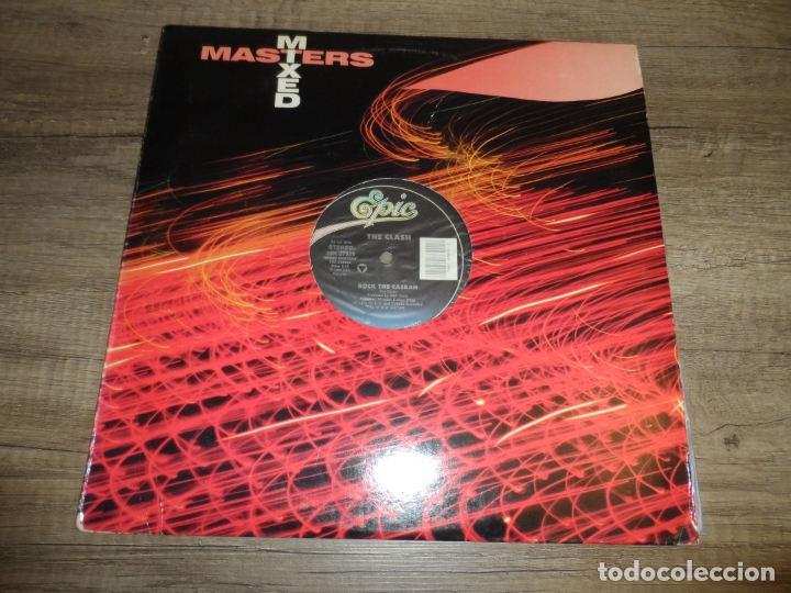 THE CLASH - ROCK THE CASBAH / MUSTAPHA DANCE (Música - Discos de Vinilo - Maxi Singles - Punk - Hard Core)