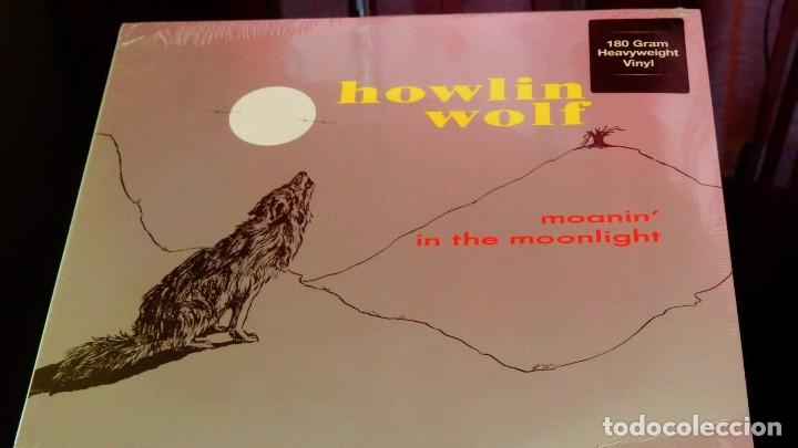 Discos de vinilo: Howlin' Wolf * LP 180g Heavyweight vinyl * Moanin' In The Moonlight * Precintado - Foto 2 - 167976404