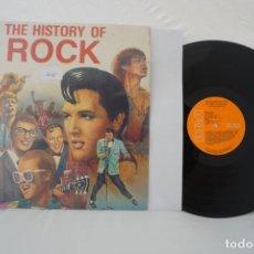Discos de vinilo: VINILO LP - THE HISTORY OF ROCK VOL 1 / RCA. Lote 167981732