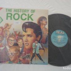 Discos de vinilo: VINILO LP - THE HISTORY OF ROCK VOL 2 / TEAL . Lote 167981828
