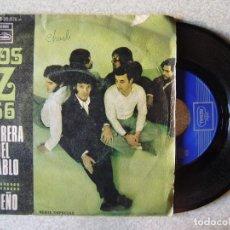 Discos de vinilo: LOS Z 66.CARRERA DEL DIABLO + 1. Lote 167992696