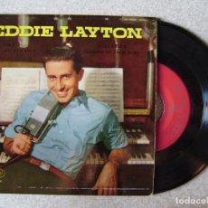 Discos de vinilo: EDDIE LAYTON.AMOR + 3...EX. Lote 167994268