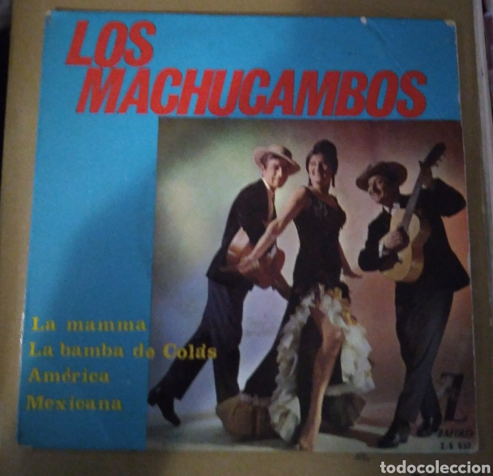LOS MACHUCAMBOS - LA MAMMA + 3 (Música - Discos de Vinilo - EPs - Grupos y Solistas de latinoamérica)