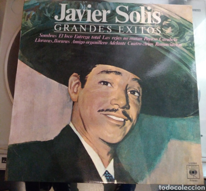 Javier solis - grandes exitos - Sold through Direct Sale - 167995264