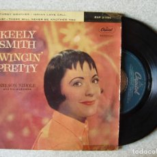 Discos de vinilo: KEELY SMITH.STORMY WEATHER + 3. Lote 167995556