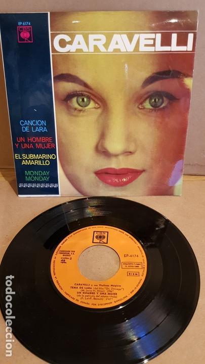 CARAVELLI / CANCIÓN DE LARA / EP - CBS-1966 / MBC. ***/*** (Música - Discos de Vinilo - EPs - Orquestas)
