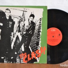 Discos de vinilo: THE CLASH / LP THE CLASH / 33RPM VERSION ORIGINAL CBS 1977-1990 / LSP 982343-1. Lote 168023024