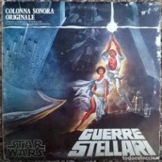 Discos de vinilo: LONDON SYMPHONY ORCHESTRA. GUERRE STELLARI STAR WARS. 20TH CENTURY ITALY (6641 707 A) 2 LP + ENCARTE. Lote 168030524