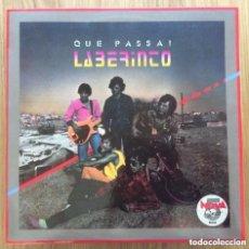 Discos de vinilo: LABERINTO QUE PASSA LP PROMO CON HOJAS PROMOCIONALES TODO EXCELENTE. Lote 168030552