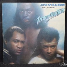 Dischi in vinile: IMAGINATION - JUST AN ILLUSION / JUST AN ILLUSION ( INSTRUMENTAL) - SINGLE. Lote 168033564