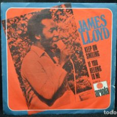 Disques de vinyle: JAMES LLOYD - KEEP ON SMILING / IF YOU BELING TO ME - SINGLE. Lote 168034044