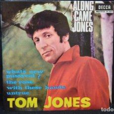 Disques de vinyle: TOM JONES - WHAT´S NEW PUSSYCAT + 3 - EP. Lote 168041520