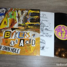 Discos de vinilo: GAYE BYKERS ON ACID - DRILL YOUR OWN HOLE. Lote 168041804