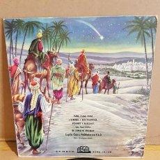 Discos de vinilo: VILLANCICOS / CAPILLA POLIFÓNICA DEL F.A.D. / EP - REGAL1958 / MBC. ***/***. Lote 168047672