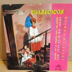Discos de vinilo: ORFEÓ DE SANS / VILLANCICOS / EP - REGAL-1963 / MBC. ***/***. Lote 168048284