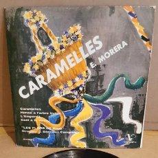 Discos de vinilo: CORAL LES FLORS DE MAIG / CARAMELLES / EP - VERGARA-1962 / MBC. ***/***. Lote 168051280